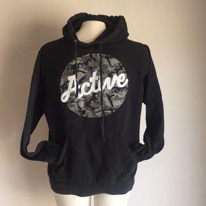 Active sweater  Black Hoodie